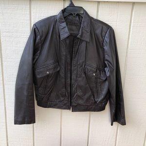 Bertini Leather Jacket Sz 42